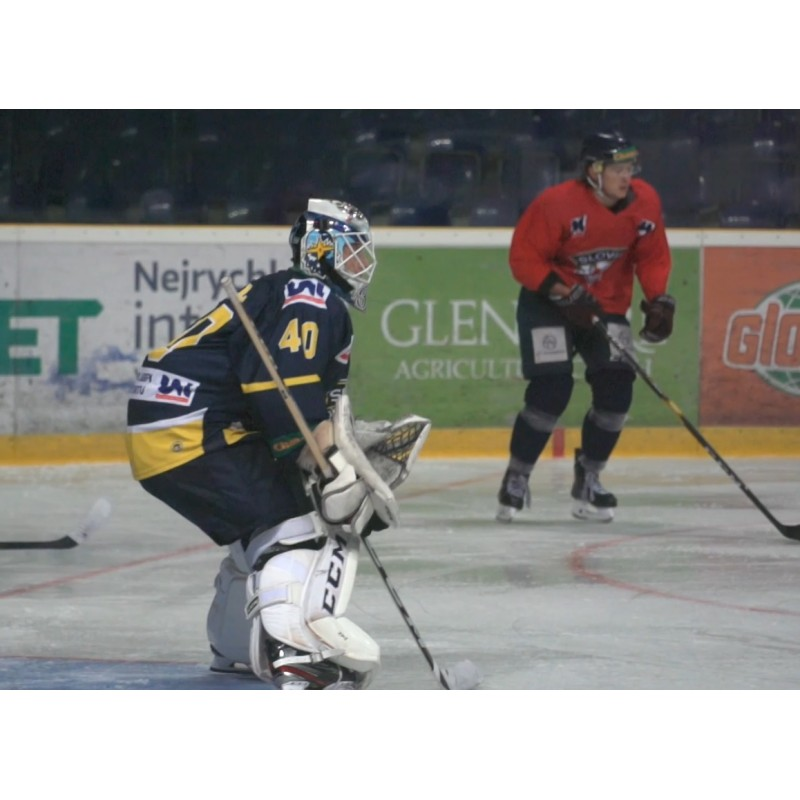 CZ - sport - Ústí - ice arena - stadium - hockey - ice hockey player