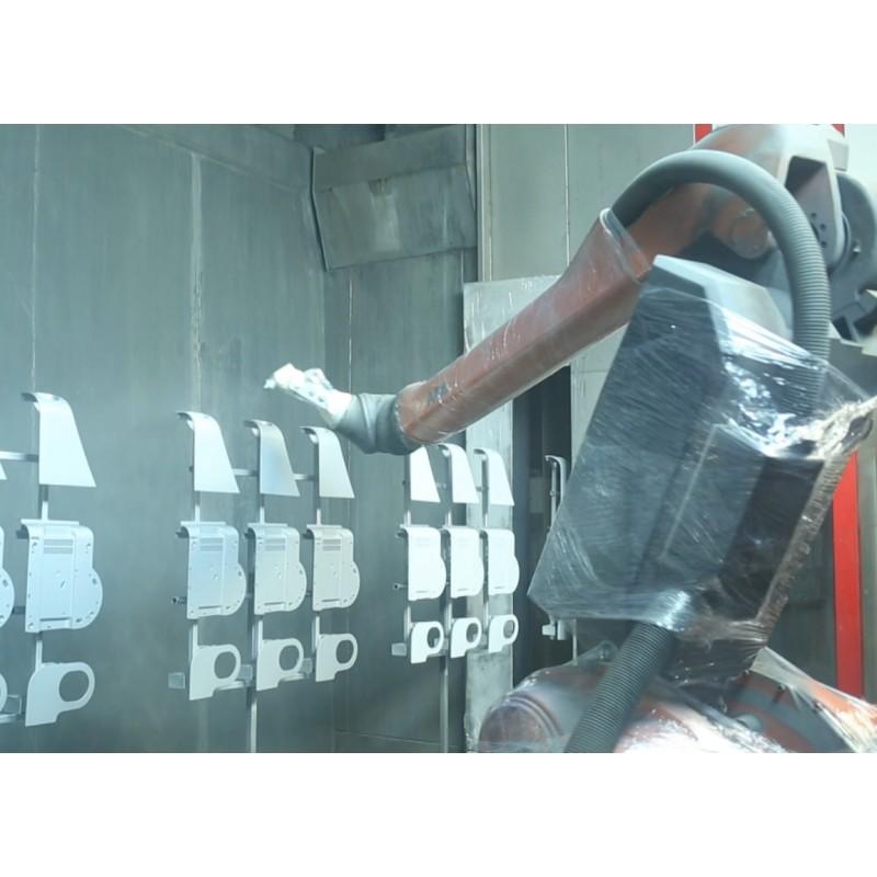 CZ - Nýrsko - OKULA - technology - painting shop - automation - ultrasound welding - robot