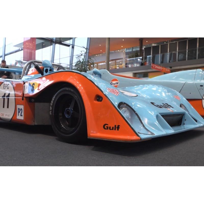 Germany - Stuttgart - Retro Classics - exhibition - classic car - MESSE - GULF - car - fair - visitor