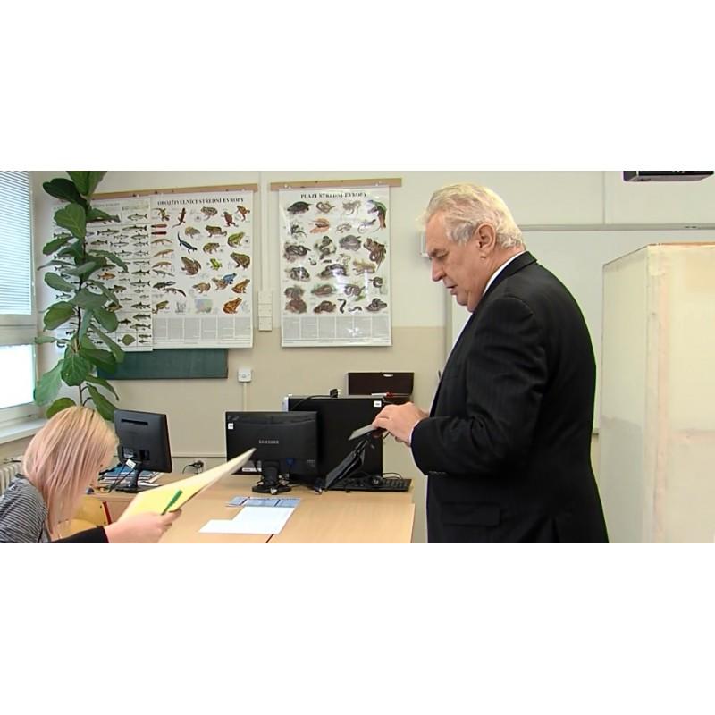 CR - President - Miloš Zeman - Election 2014