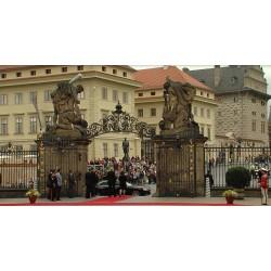 CR - Slovak President - Andrej Kiska - Miloš Zeman - Prague Castle