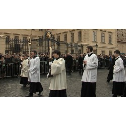ČR - Václav Havel - pohřeb 1
