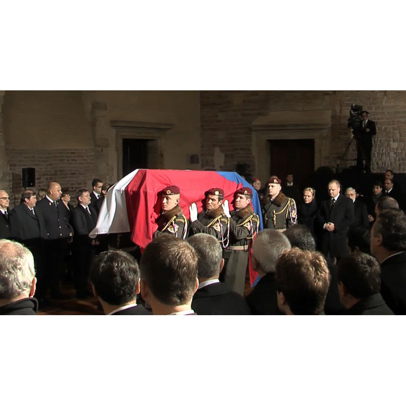 CR - Václav Havel - Funeral 2