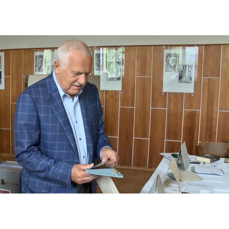 CR - European Election - Ballot boxes - Václav Klaus - Ex-President