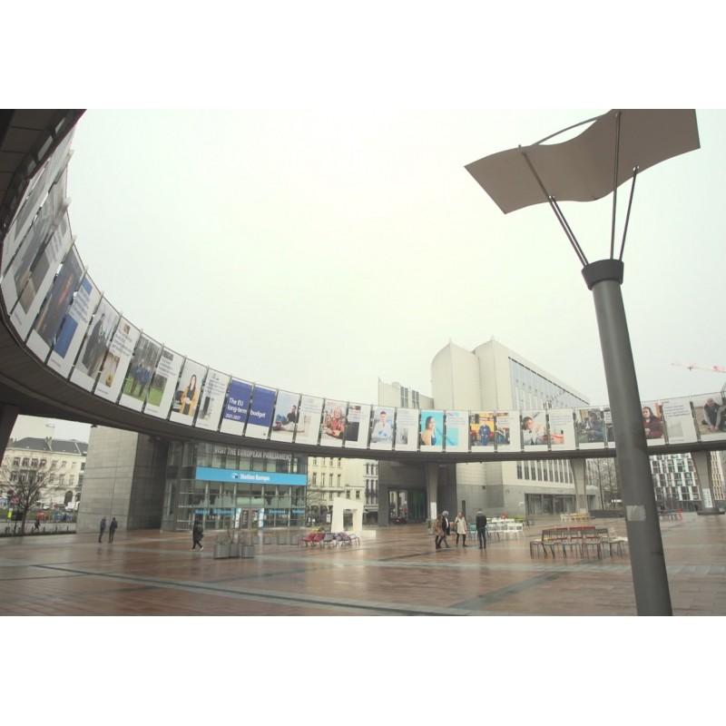Belgie - Brusel - Evropský parlament - 2021 - ECR - Covid - lockdown