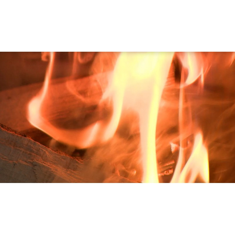 CR - People - Home - Fire at Fireplace