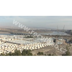 Syria - Turkey - Refugees - Containers
