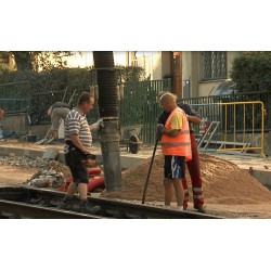 CR - Trams - Track - Repair