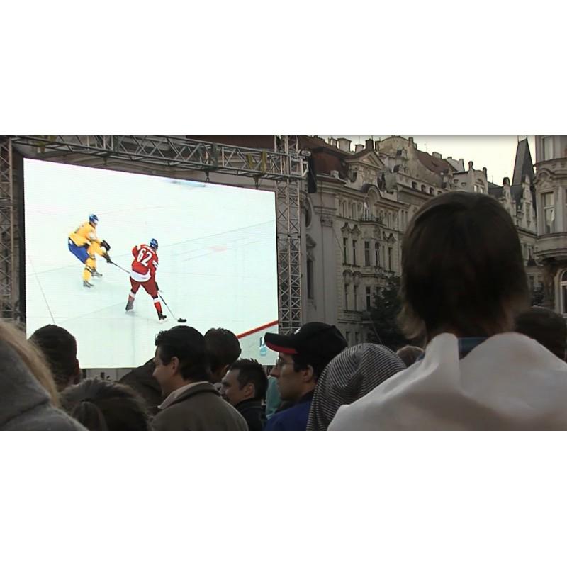 CR - Prague - Hockey - Fans of World Championship