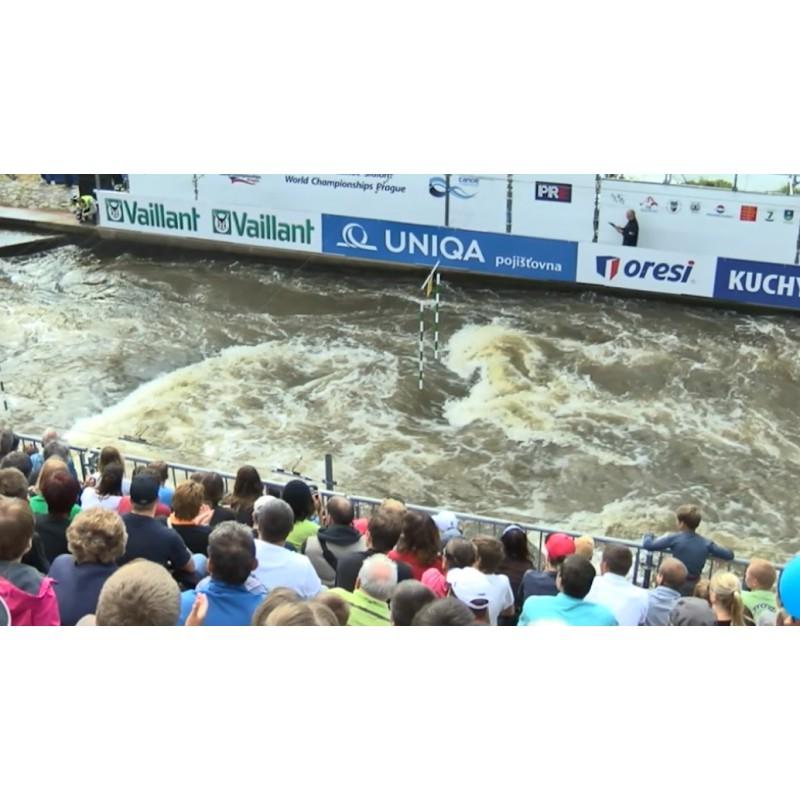 CR - Prague - World CHampionship - Water Slalom - Vavřinec Hradílek