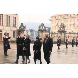 ČR - Miloš Zeman - prezident - inaugurace