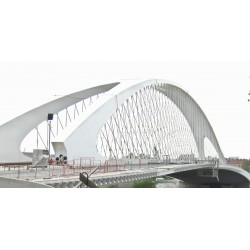 CR - Prague - Construction - Troja Bridge