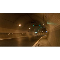 CR - Prague - Tunnel Blanka - Interior - Safety features - work
