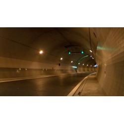 ČR - Praha - Tunel Blanka - interiér - bezpečnostní prvky - práce