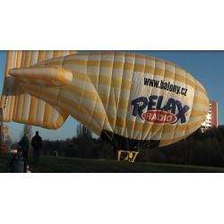 CR - airship - inflation - flight - advertising