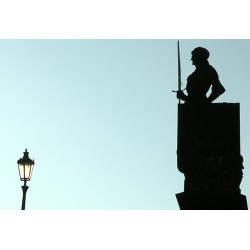 CR - Prague - Charles Bridge - statues