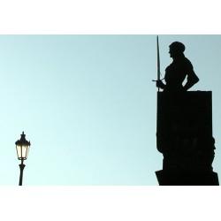 ČR - Praha - Karlův most - sochy