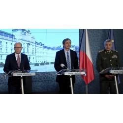 CR - Government - Bohuslav Sobotka - Martin Stropnický - František Malenínský