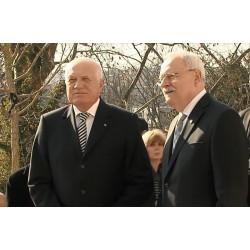 ČR - SR - Václav Klaus - Ivan Gašparovič - exprezidenti