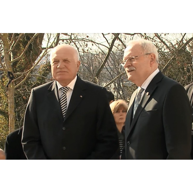 CR - SR - Václav Klaus - Ivan Gašparovič - ex-presidents