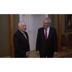 CR - Václav Klaus - Miloš Zeman - presidents