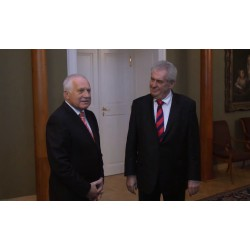 ČR - Václav Klaus - Miloš Zeman - prezidenti