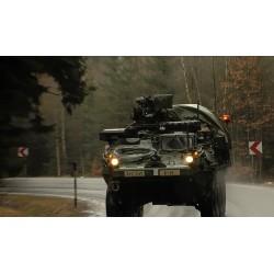 ČR - USA - armáda - obrněná vozidla