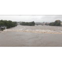 ČR - Praha - Střední Čechy - povodně - Vltava