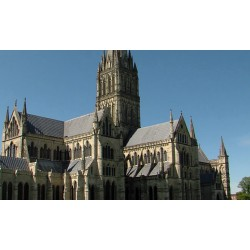 Velká Británie - Salisbury - katedrála - historie - gotika