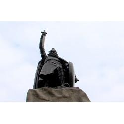 Velká Británie - Winchester - historie - sochy - radnice Guildhall