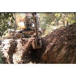 CR - digger - digging works