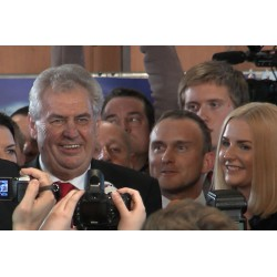 CR - Prague - president election 2013 - Miloš Zeman