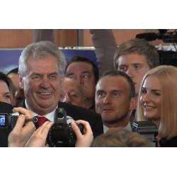 ČR - Praha - volba prezidenta 2013 - Miloš Zeman