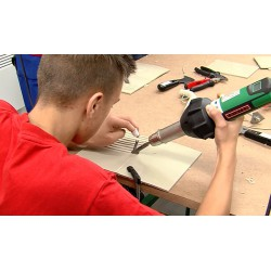 CR - schools - vocational school - students - welding of plastics