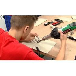 CR - schools - vocational school - students - welding of plastics