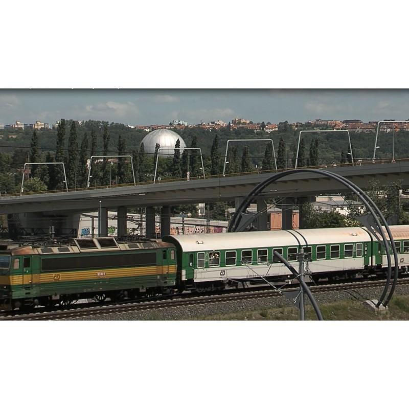 CR - Prague - transport - roads - trains - trams - Libenský bridge