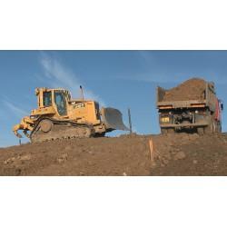 CR - truck - soil dumping
