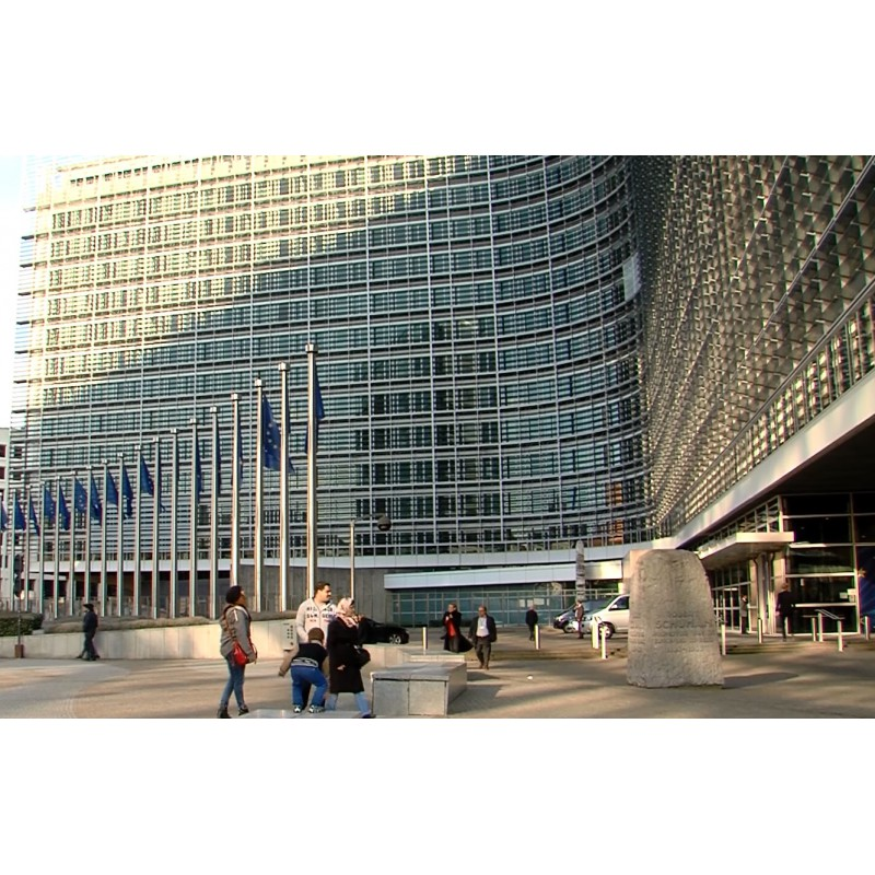 Belgie - Brusel - Evropská komise - exteriéry