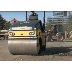 CR - soil and asphalt roller - Caterpillar