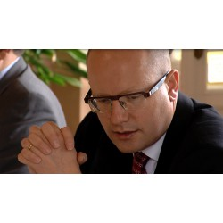 CR - Prague - Bohuslav Sobotka - Prime minister - Czech social democratic party