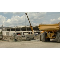 CR - hall - construction - construction machinery