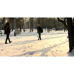ČR - Praha - počasí - zima - doprava