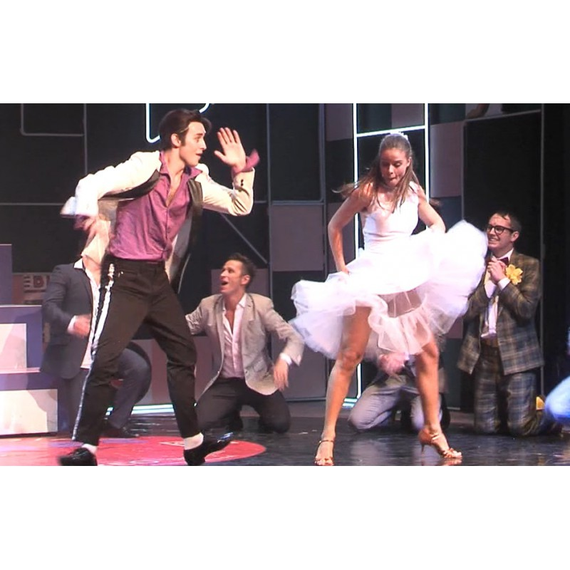 CR - Prague - Divadlo Kalich - musical - Grease