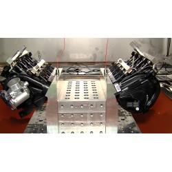 CR - Vysočina - Okříšky - MANN HUMMEL - loading test - motor