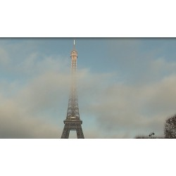 France - Paris - Eiffel tower - time-lapse - original lenght