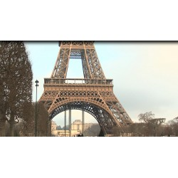 France - Paris - Eiffel tower - tourists