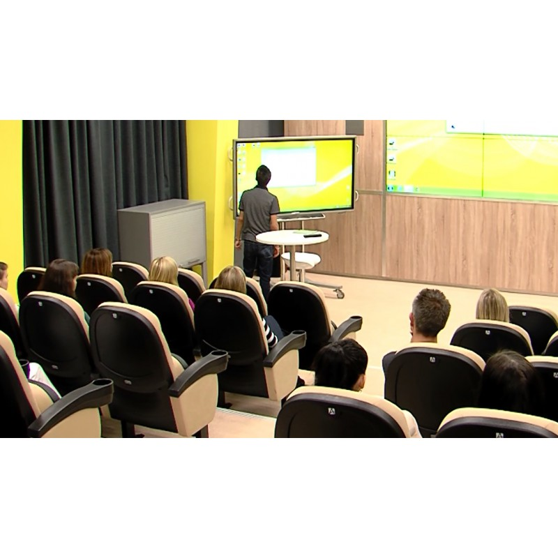 CR - people - education - lecture - screening room