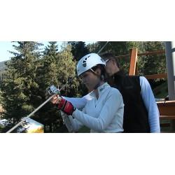 ČR - Krkonoše - Pec pod Sněžkou - adrenalin - bobová dráha - lanové centrum