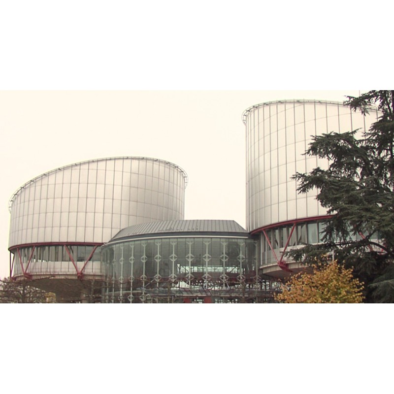 France - Strasbourg - Human Rights Court - Exteriors
