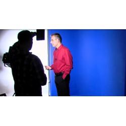 ČR - média - natáčení - bluescreen